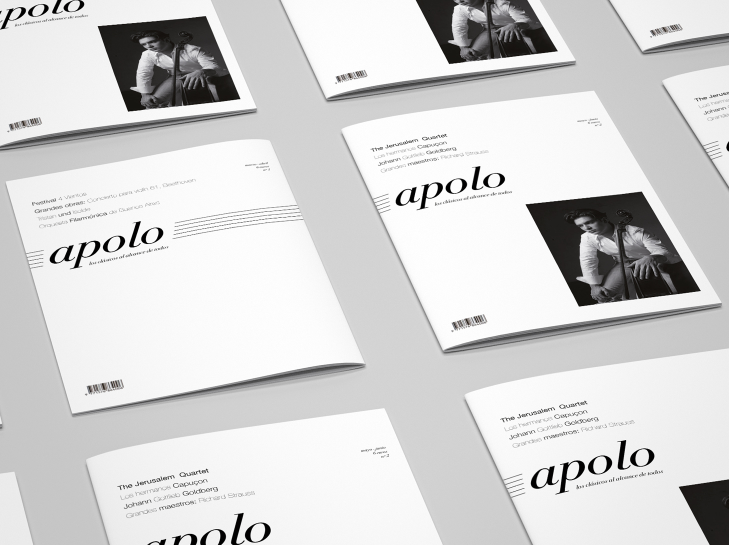 Apolo Magazine - #editorial