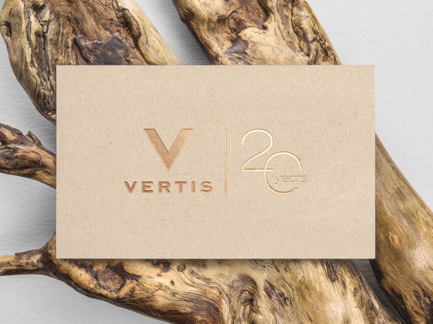 Vertis 20 Years - #identity