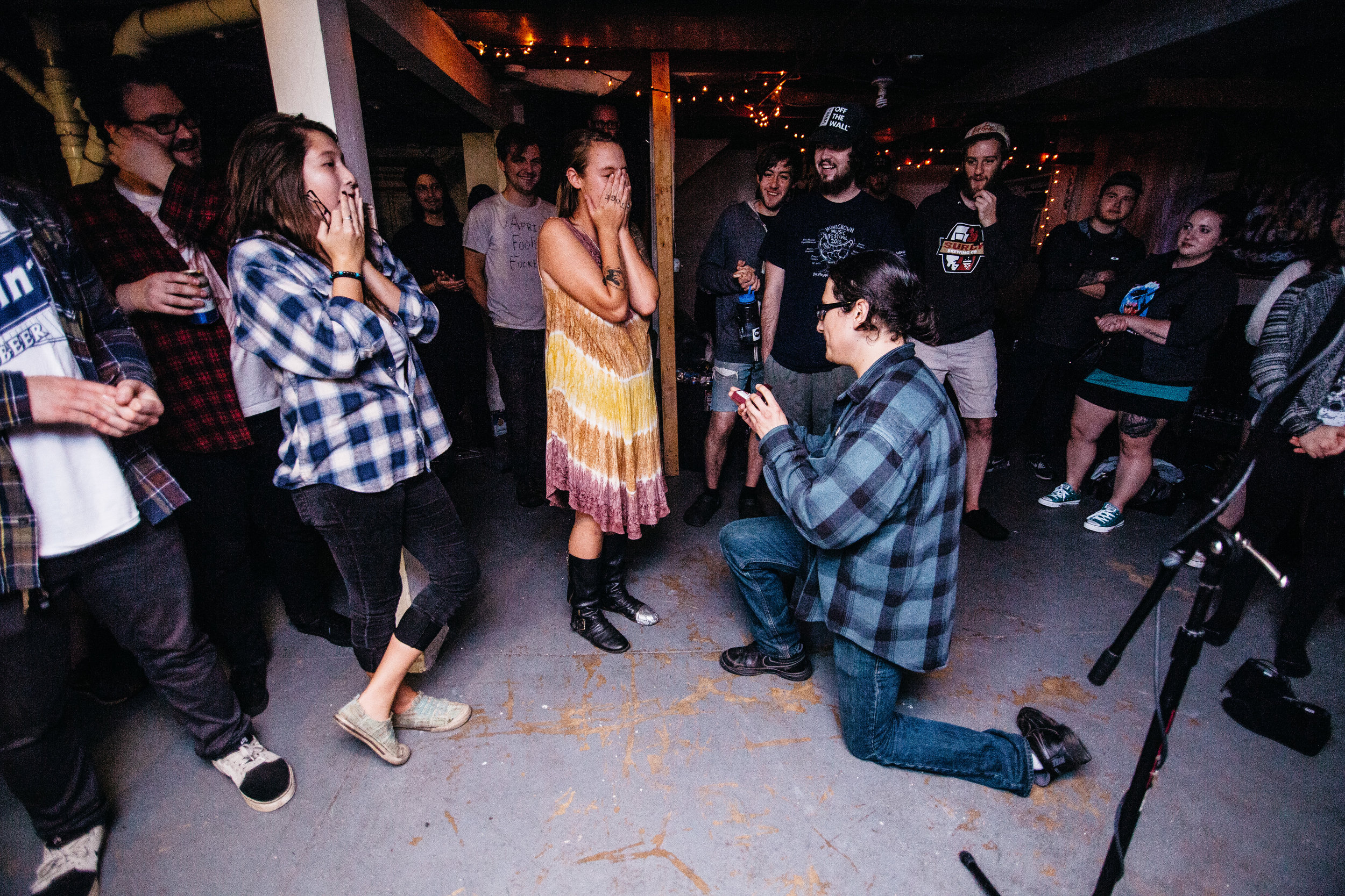 """During the show a couple got engaged. As a special gesture, Signals Midwest performed their song """"Desert to Denver,"""" at their request."""