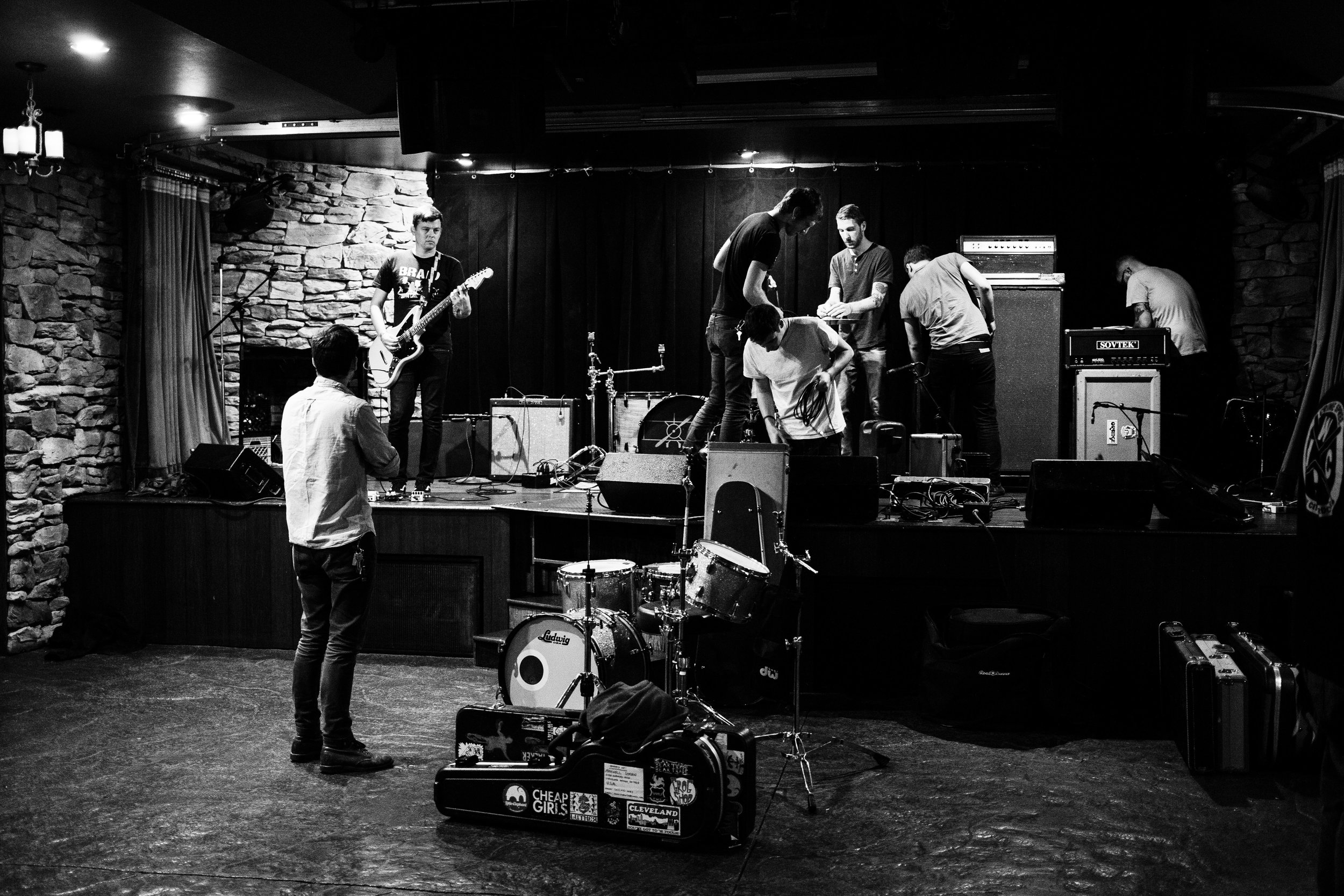 Signals Midwest set up for sound check in Chicago, Illinois, October 7, 2016.
