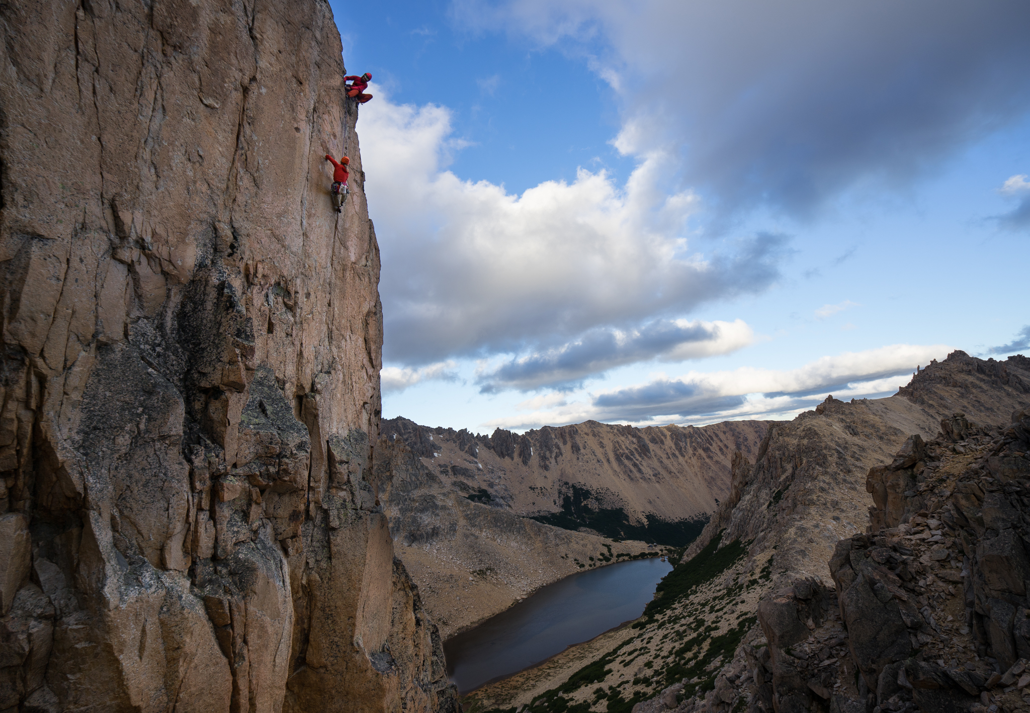 """Karah and Peter really nail the """"try hard"""" thing on EMC2 (5.12d)"""