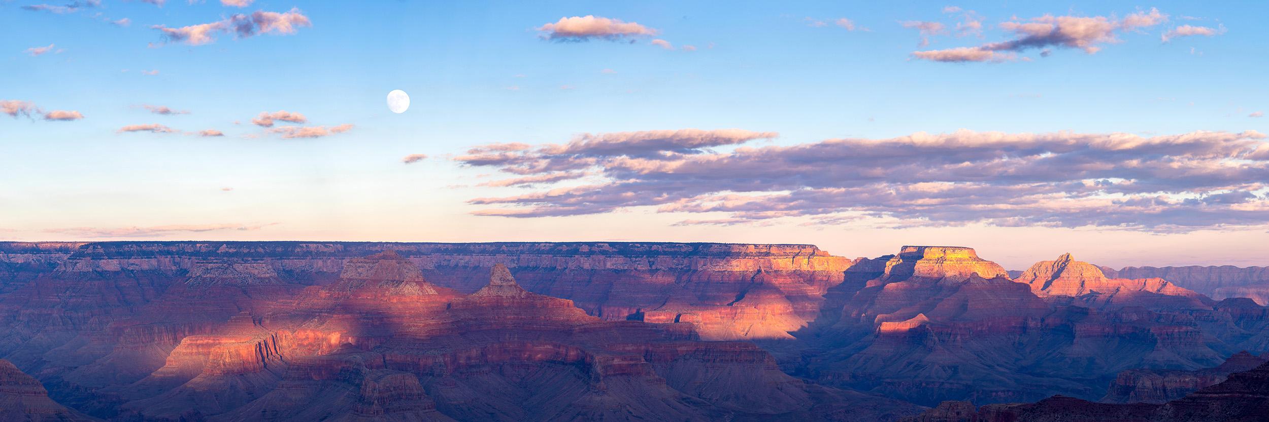 Grand Canyon Supermoon