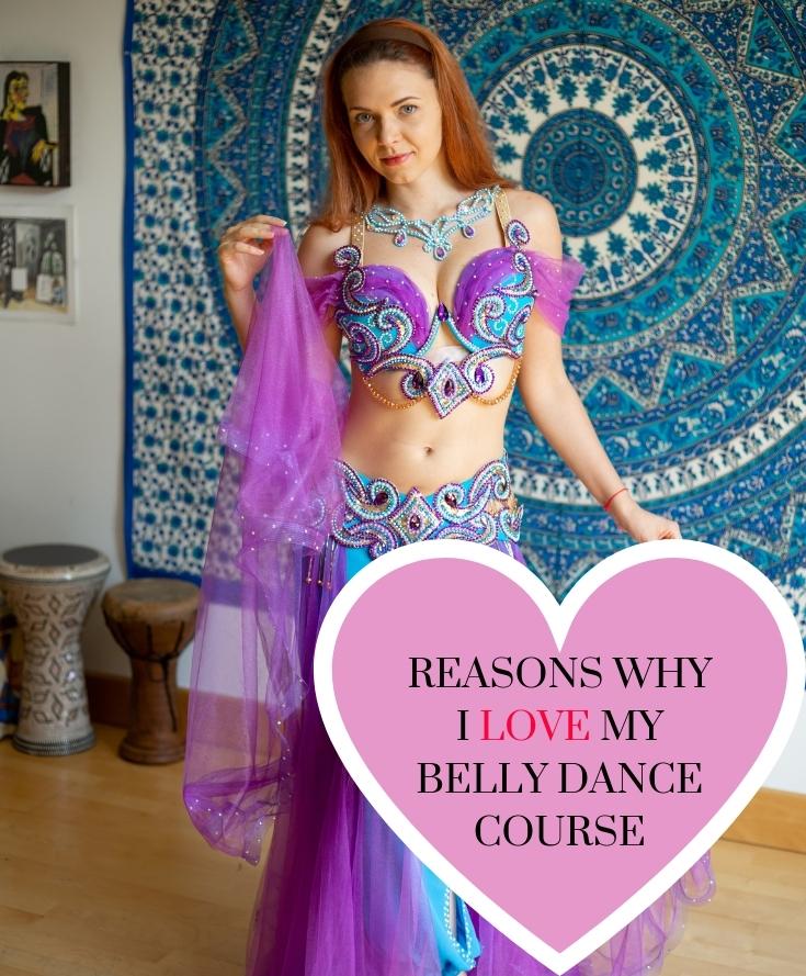 belly dance class online