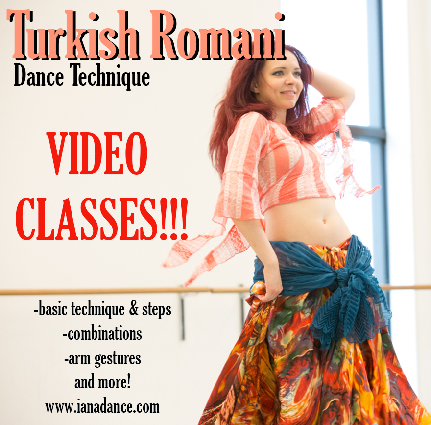 turkish romani dance