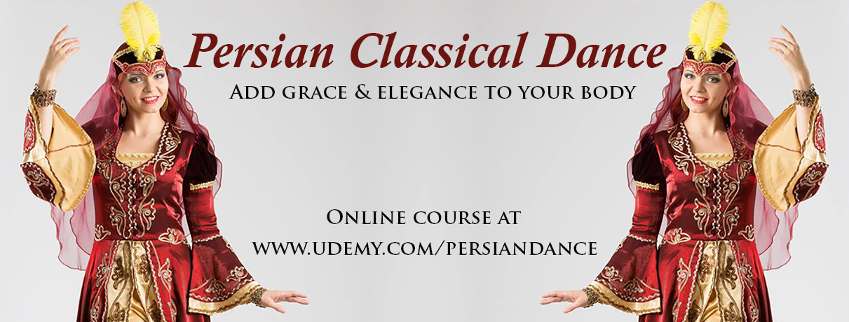 NEW online course on Persian Classical Dance with Iana!