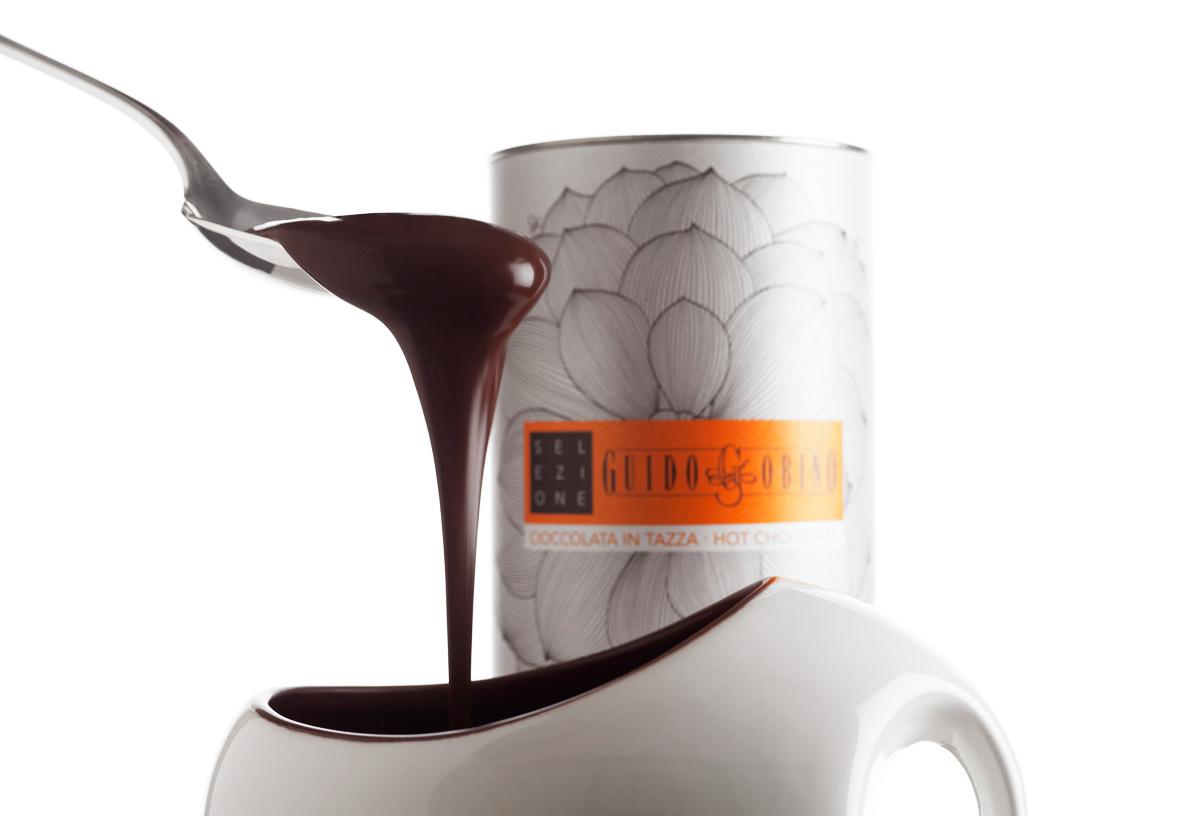 Cioccolata calde fondente.Courtesy of Guido Gubino.