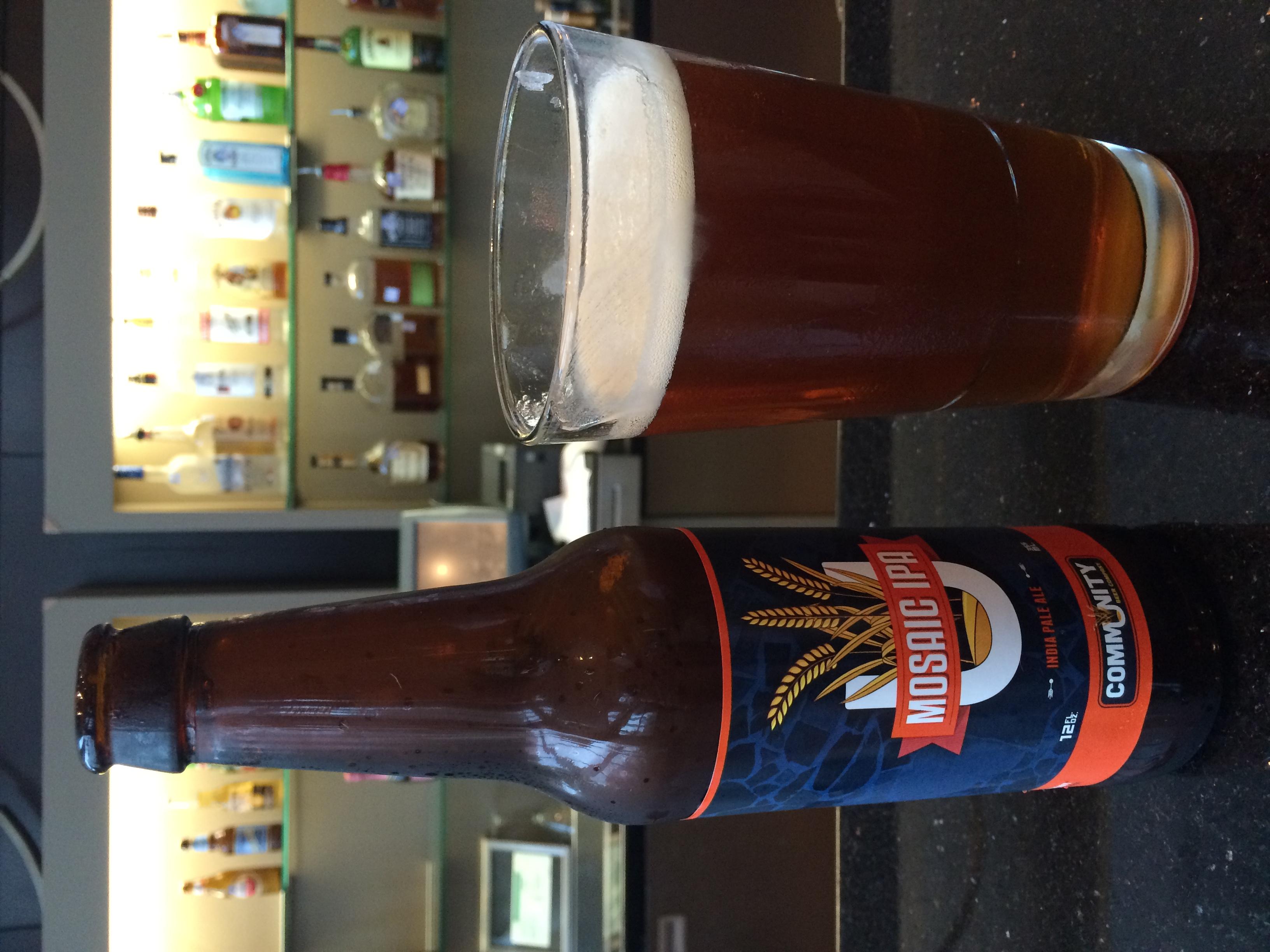 Community Beer Co.'s Mosaic IPA