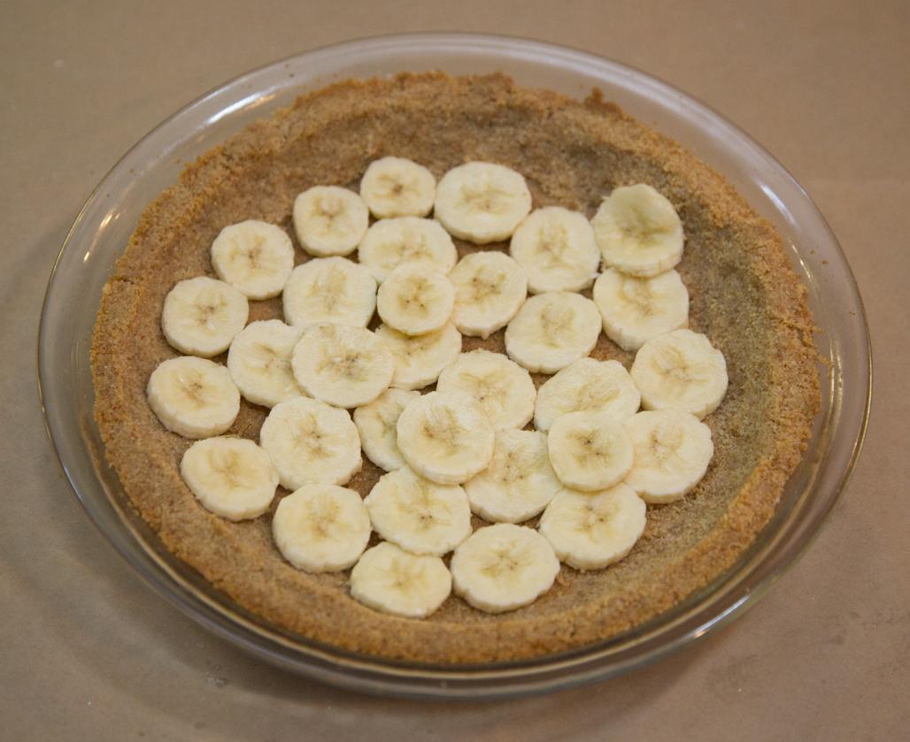 A layer of bananas...