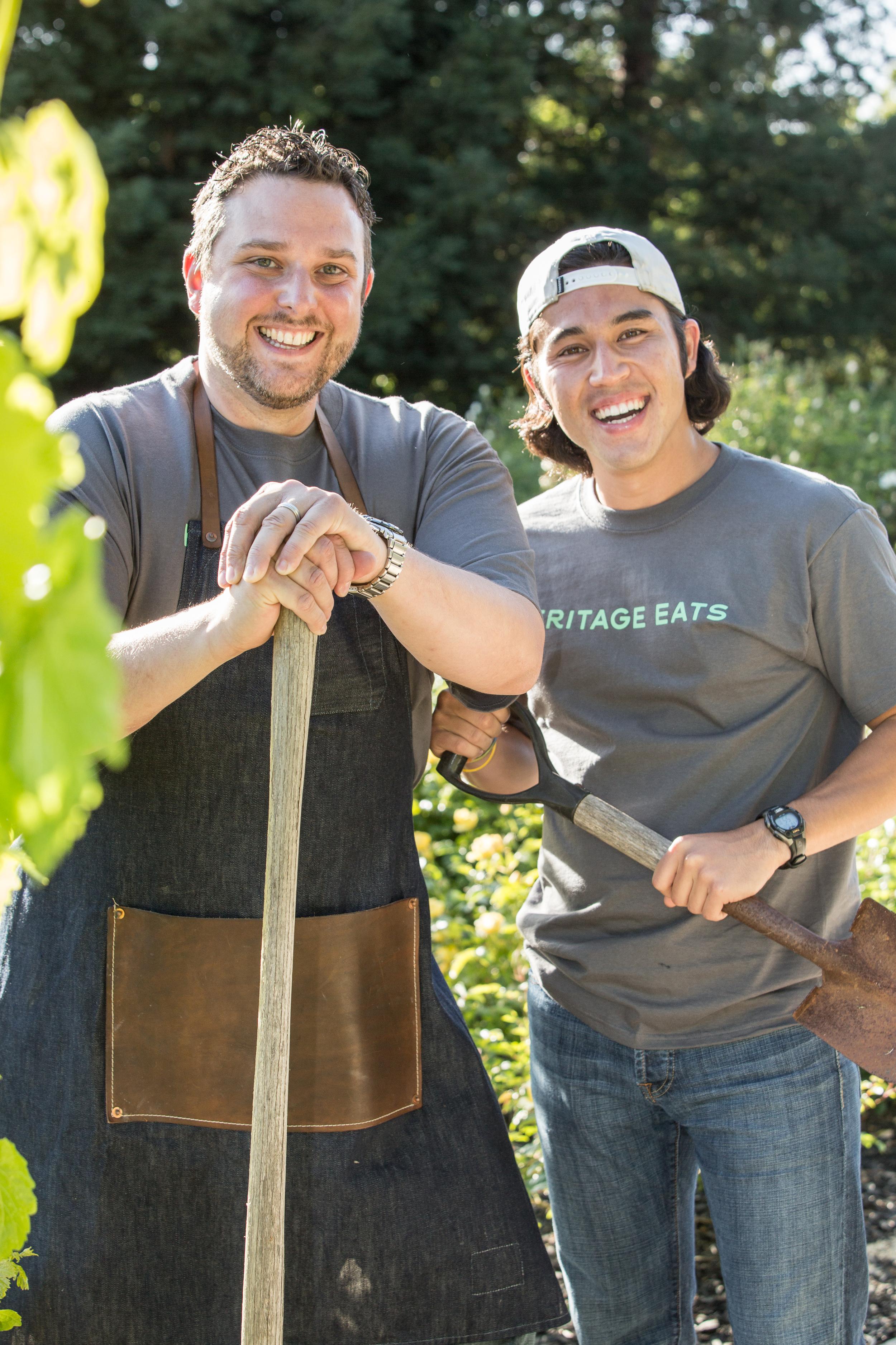Heritage Eats co-founder Chef Jason Kupper and Ben Koenig