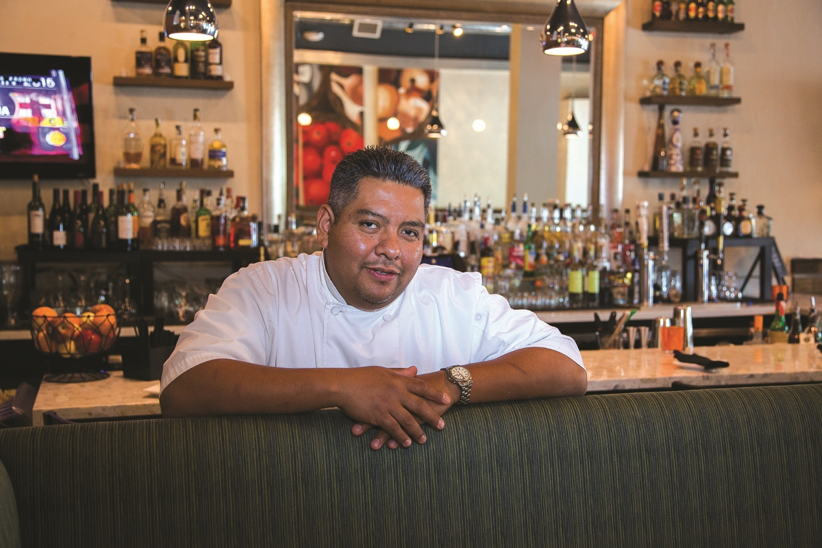 Chef Manuel Martinez of LV Mar:  One man, four pillars.
