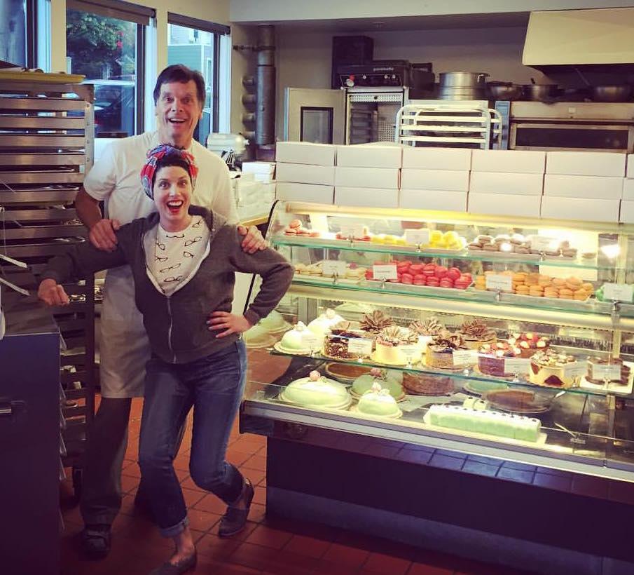 Doug and Elena Basegio - like father, like daughter.