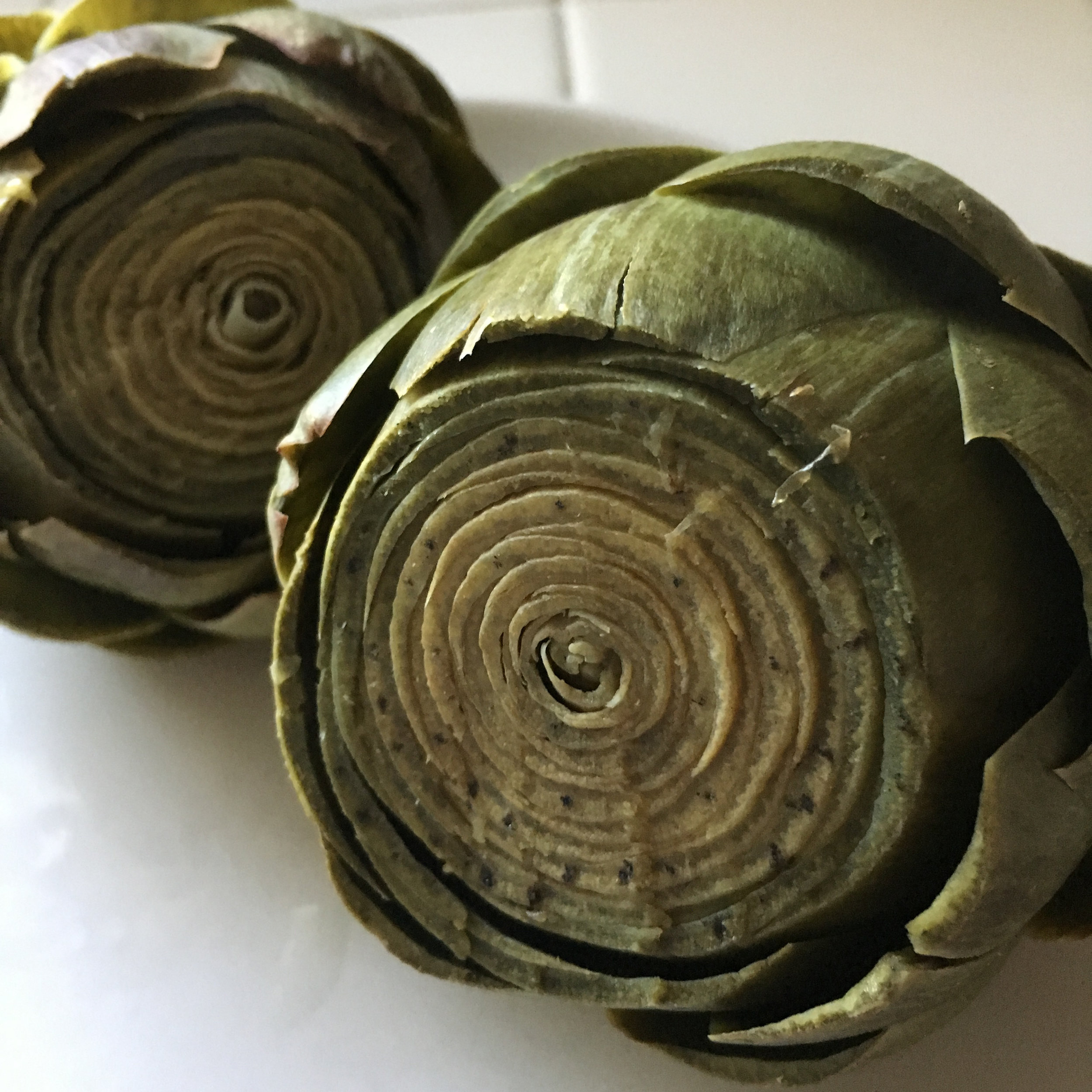 Still not sure what's imperfect about these artichokes, they were delicious!