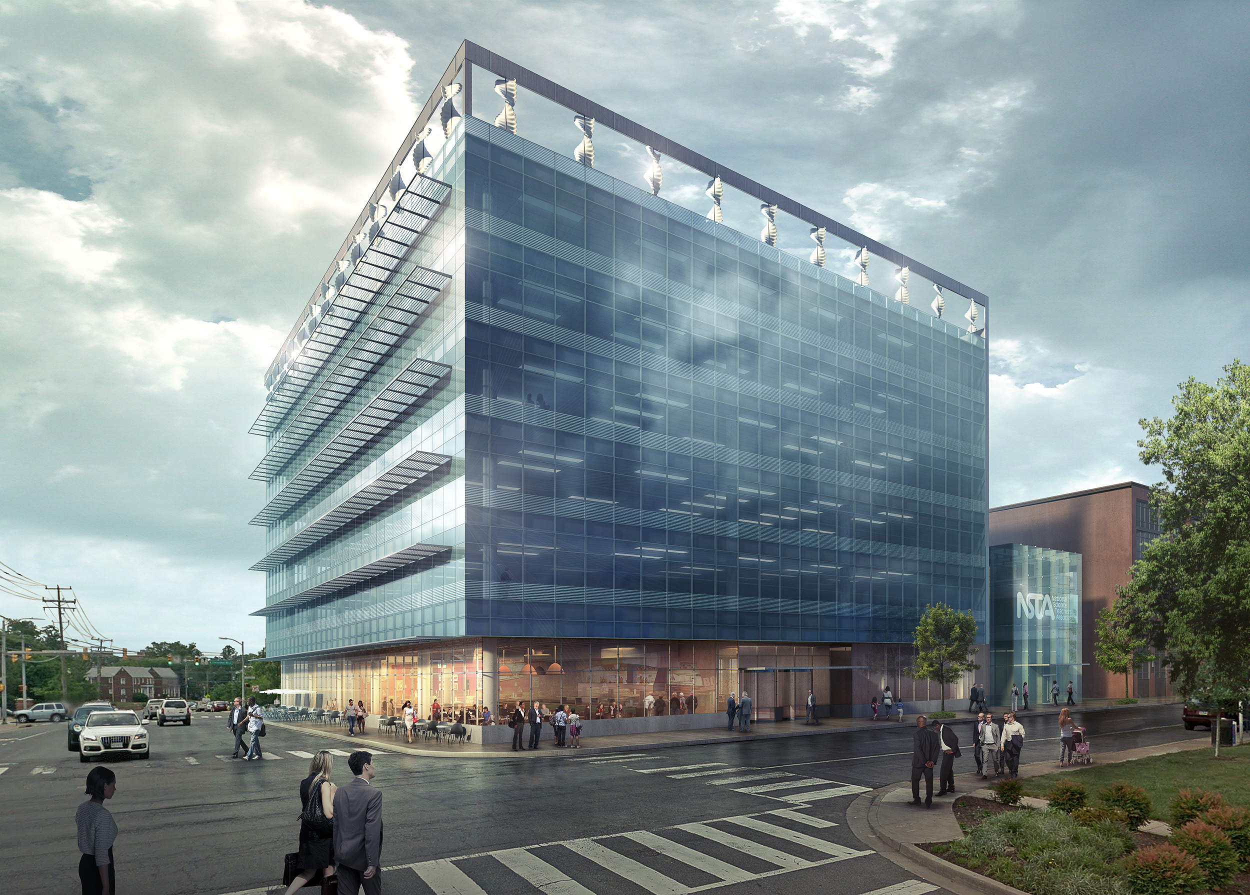 1836 WILSON BLVD CONCEPT  Arlington, VA |  Image courtesy of Gensler