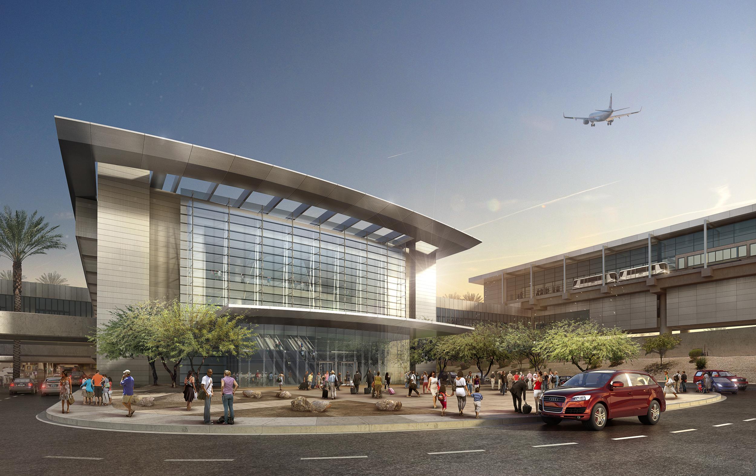 AIRPORT CONCEPT  Phoenix, AZ | I mage courtesy of HOK LA