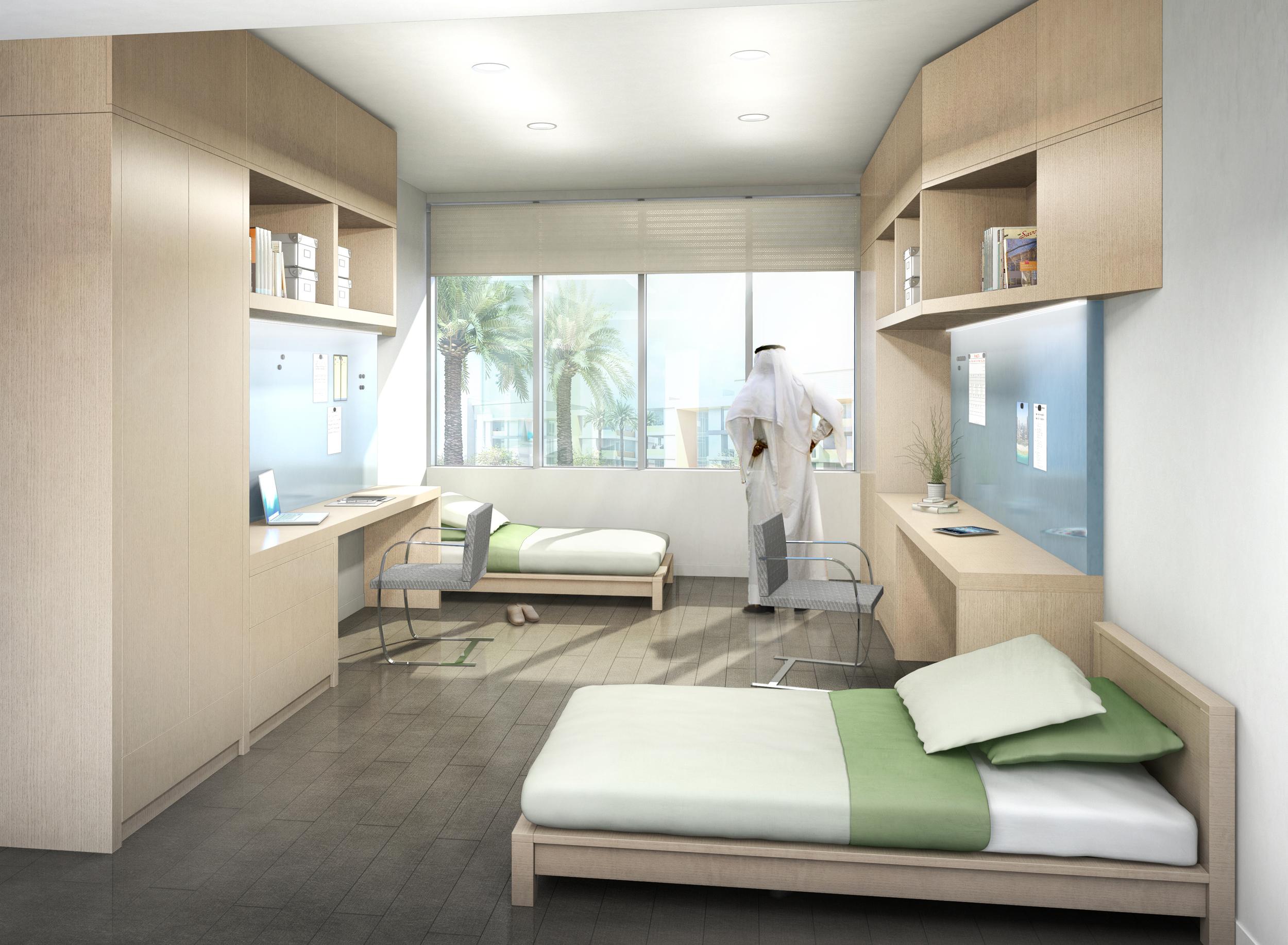 ADNOC DORM ROOM  Abu Dhabi, UAE    Client: HOK DC