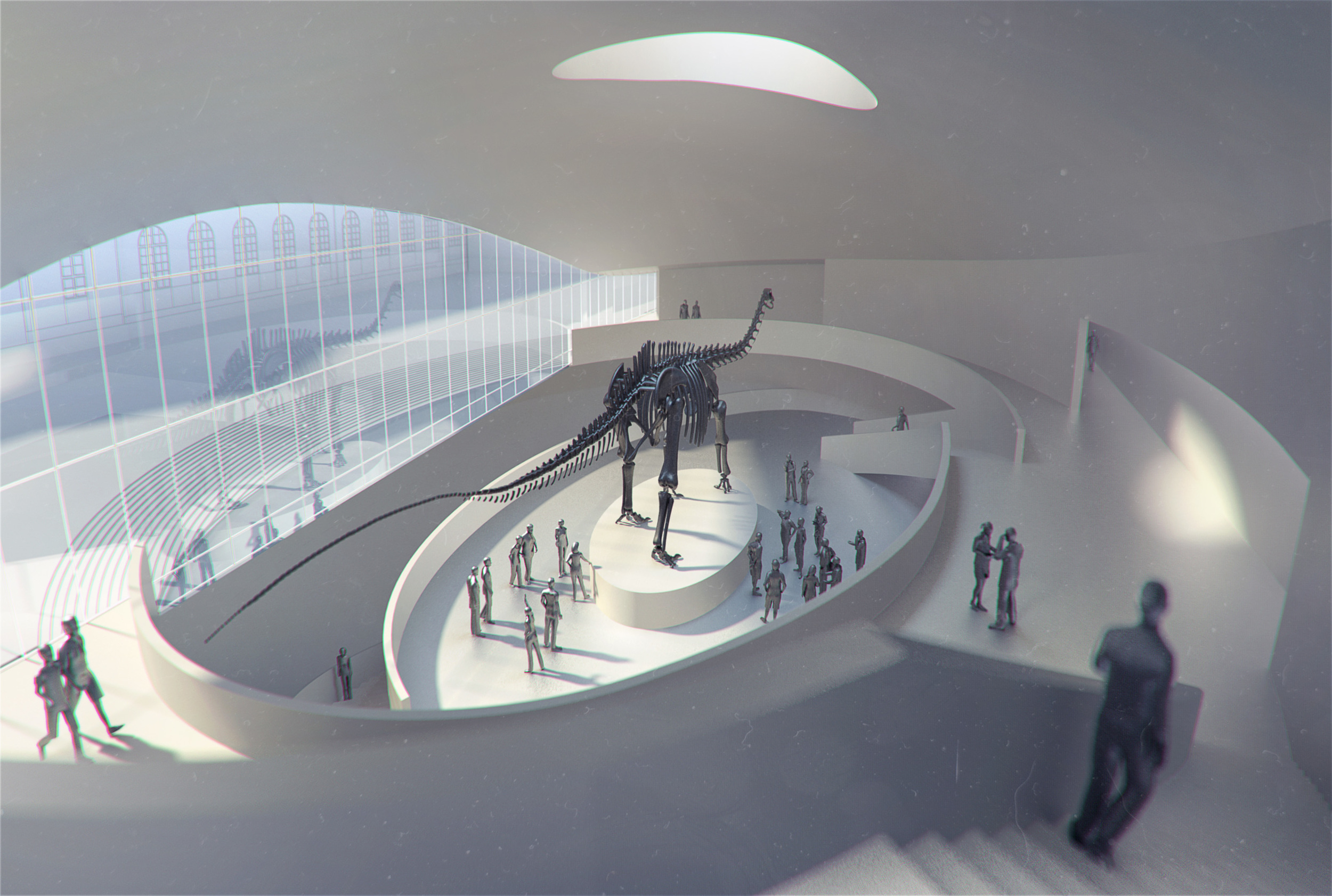 BAVARIA MUSEUM OF NATURAL HISTORY  Munich, Germany | Image courtesy of wöhr heugenhauser architekten