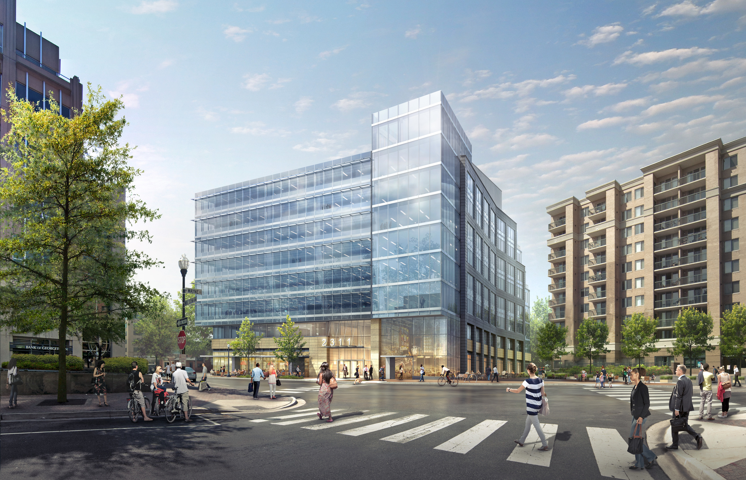 2311 WILSON BLVD OFFICE  Arlington, VA |  Image courtesy of Carr Properties
