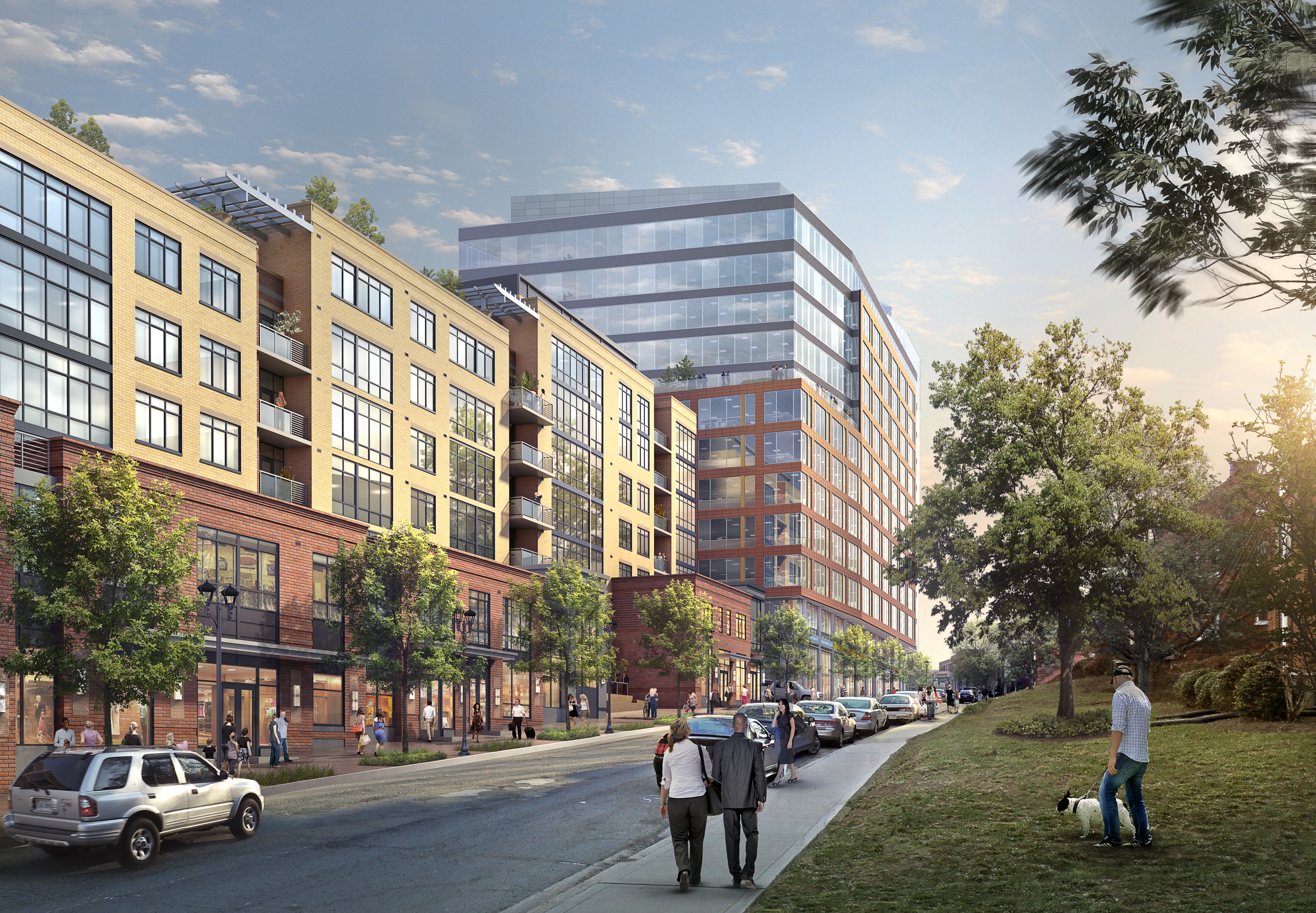2025 CLARENDON BLVD  Arlington, VA |  Image courtesy of SmithGroup JJR