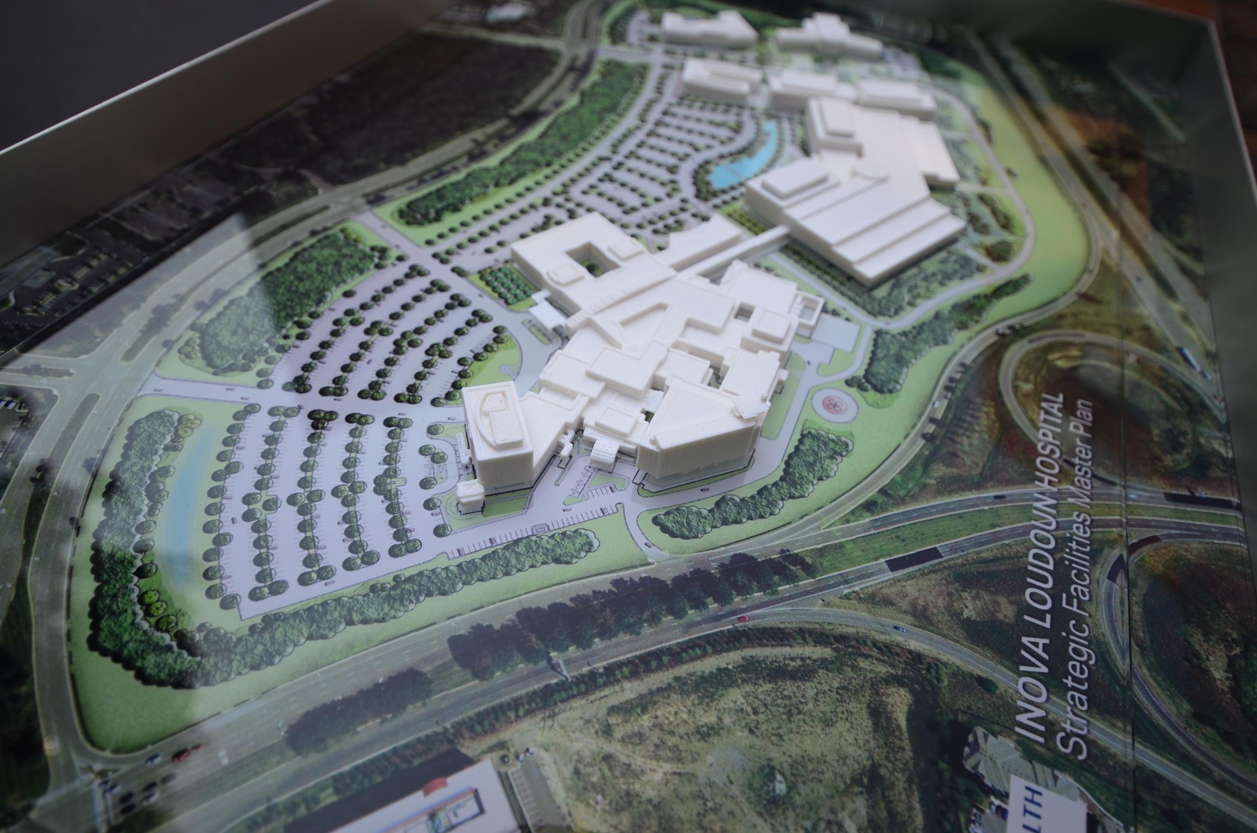 HOSPITAL GIVE AWAY  Loudon, VA | Image courtesy of HOK DC
