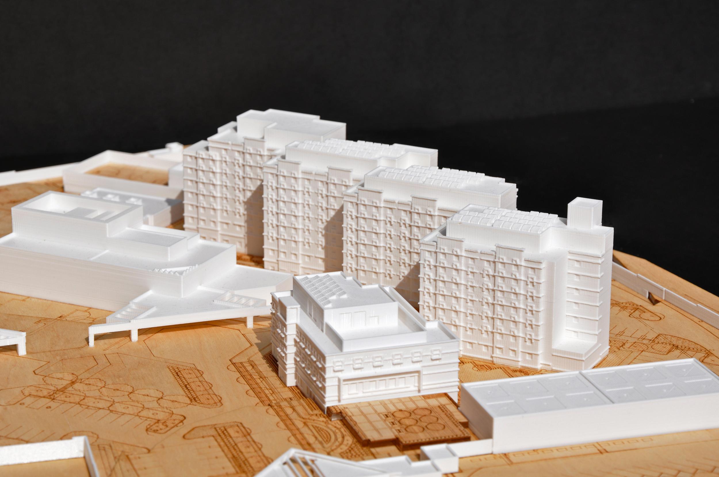 EMBASSY HOUSING   Image courtesy of HOK DC