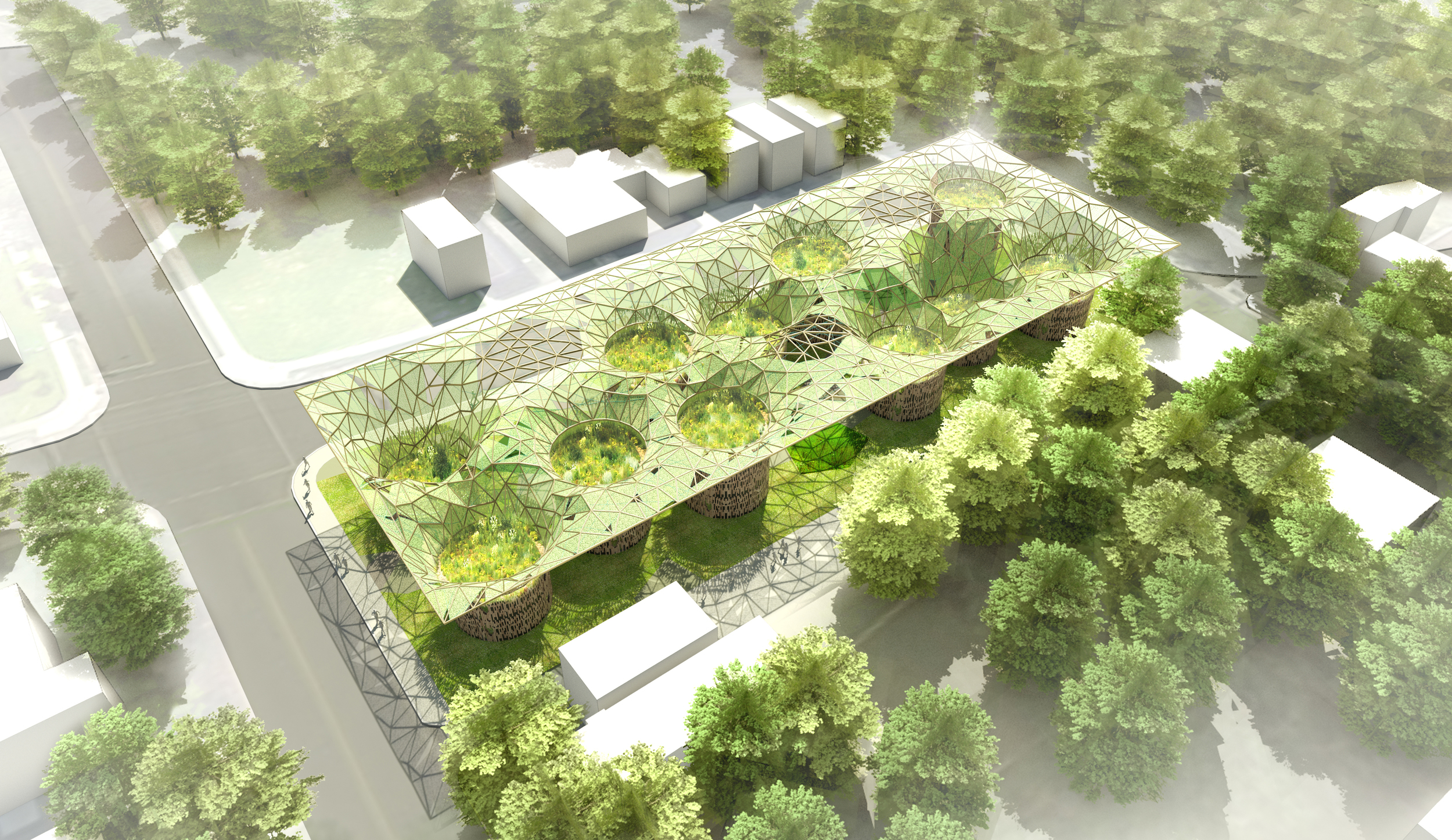 POPULUS:  AFFORDABLE LIVING DESIGN CHALLENGE  Washington, DC |  Collaboration with Make DC, Engenium Group