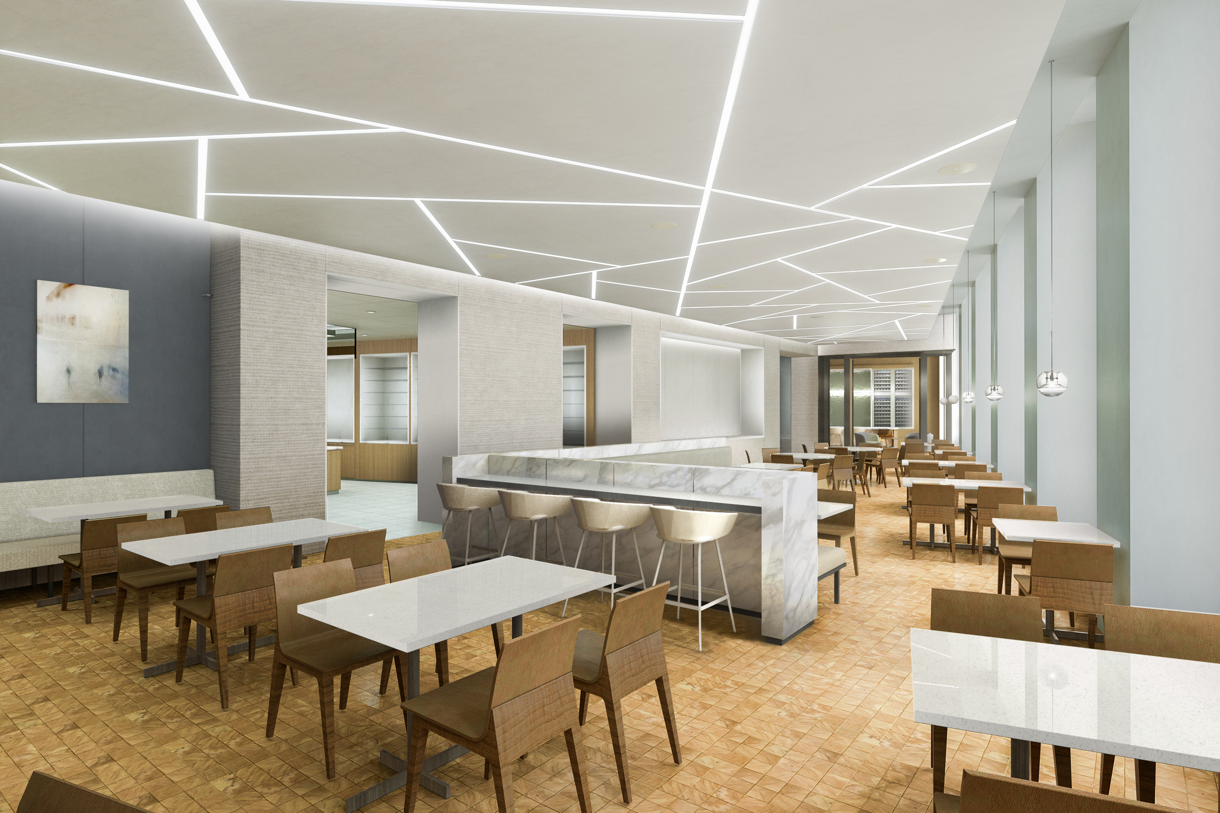 DINING CONCEPT   New York City, New York |  Client: HOK NYC