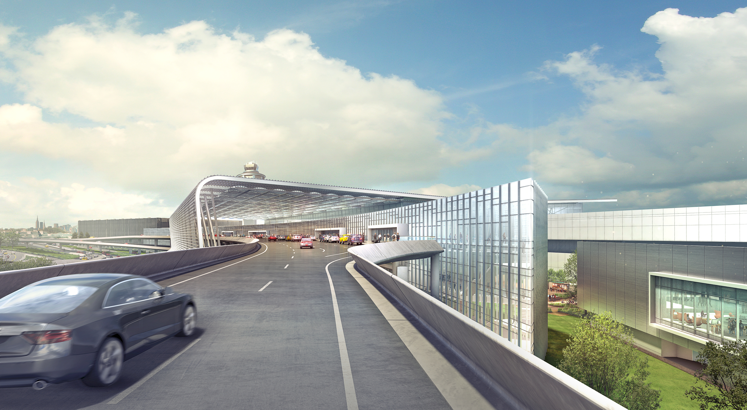 LaGuardia AIRPORT CONCEPT   New York, NY    Image courtesy of Gensler