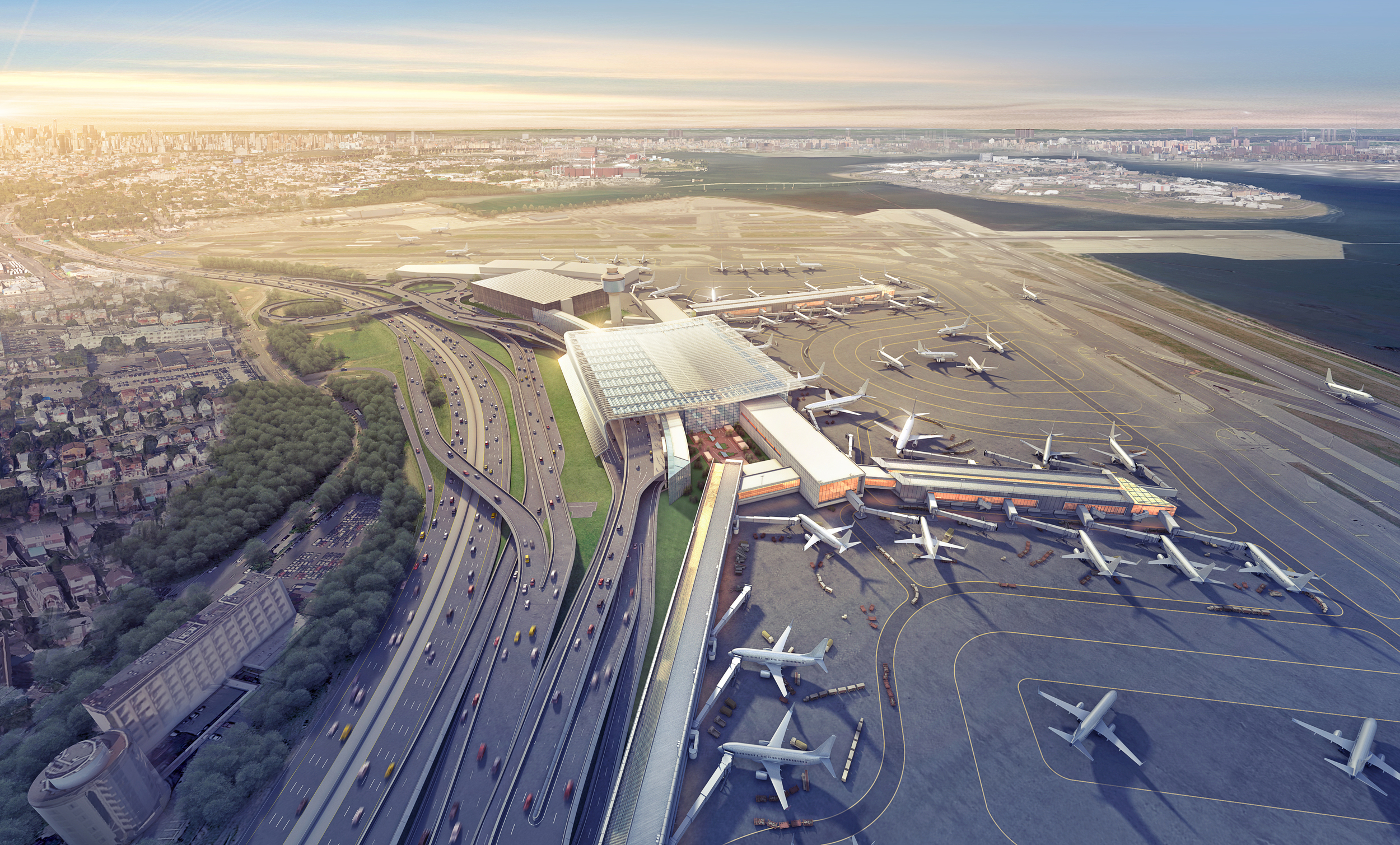 LaGuardia AIRPORT CONCEPT   New York, NY |  Image courtesy of Gensler