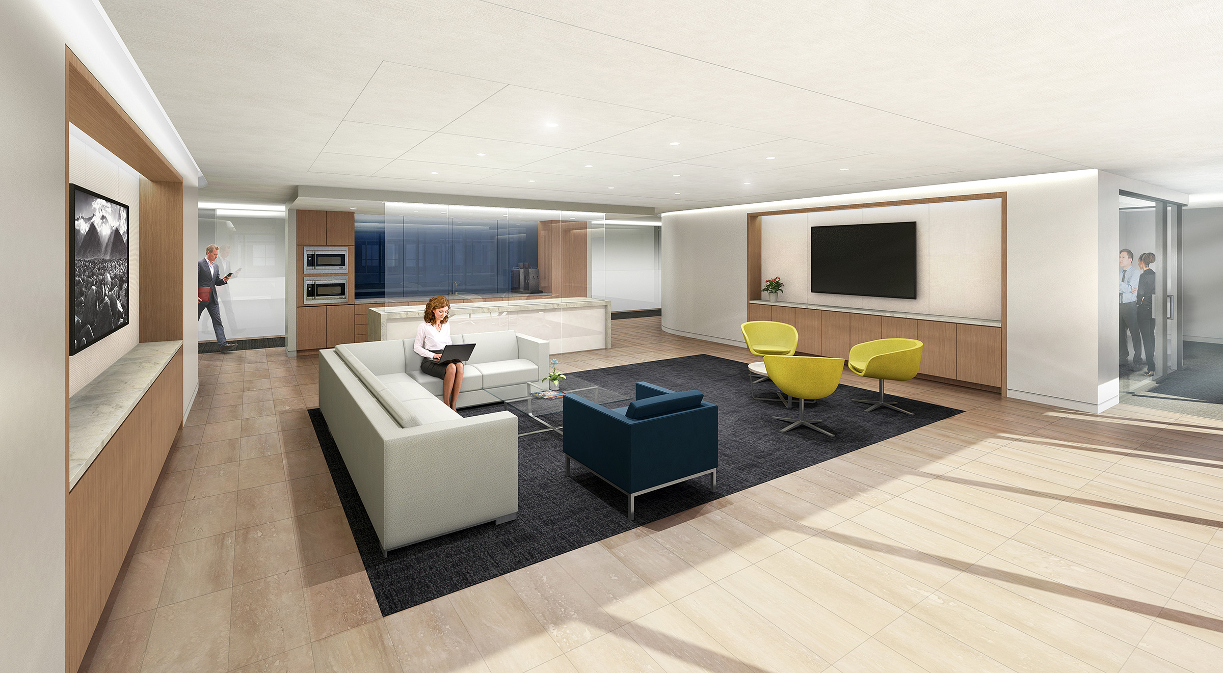 OFFICE CONCEPT  Washington, DC |  Client: HYL Architecture