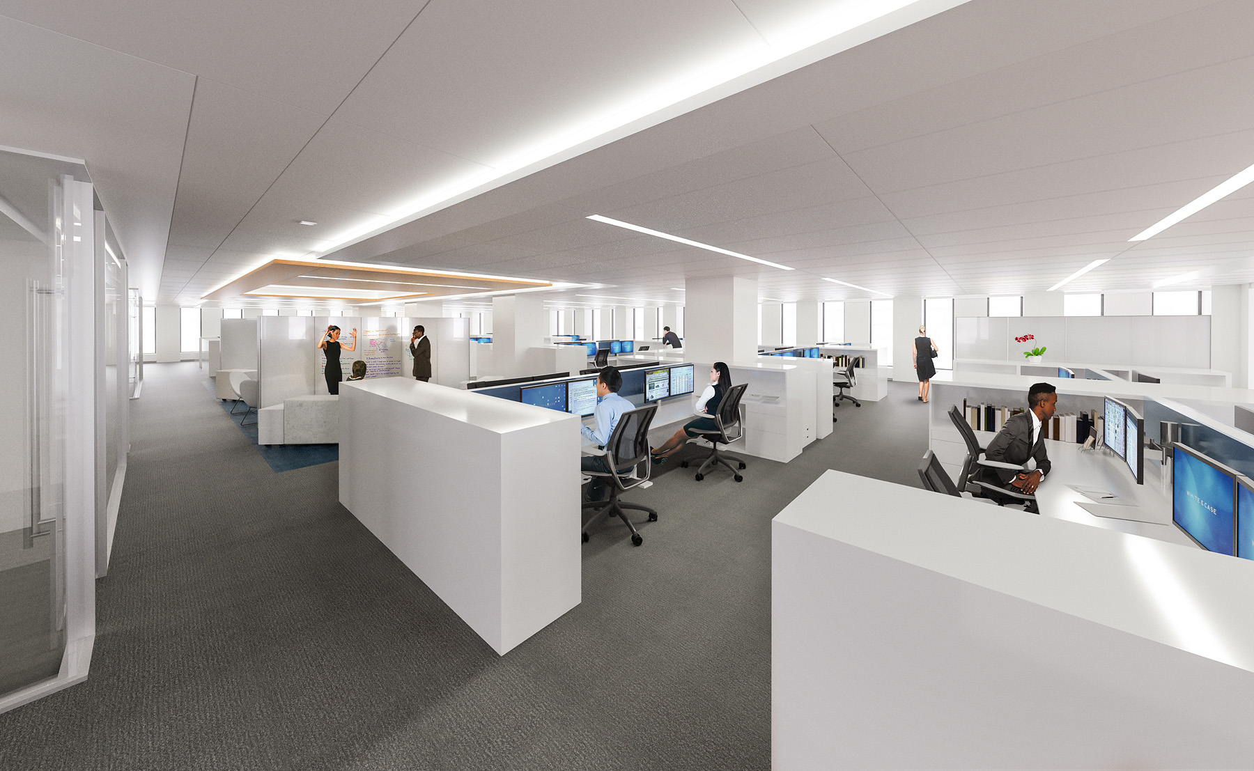 OFFICE CONCEPT  New York, NY |  Client: HYL Architecture