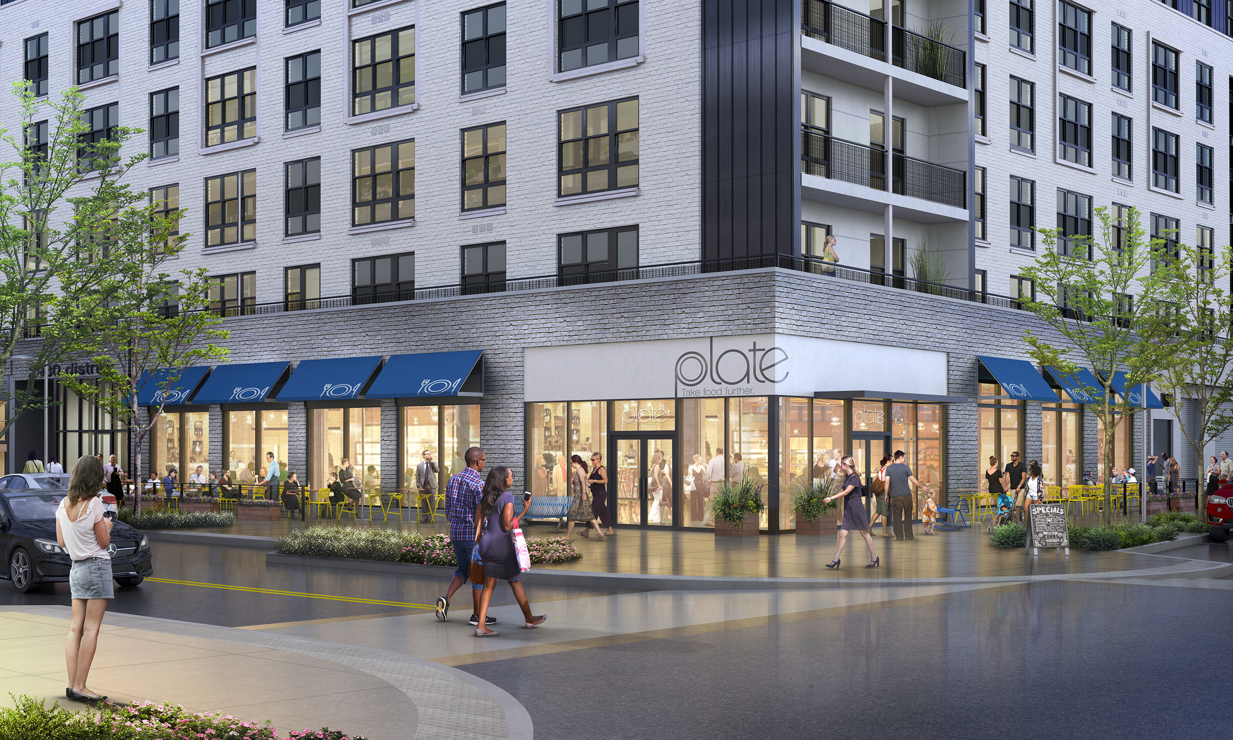 MOSAIC DISTRICT  Merrifield, VA |  Client: Edens