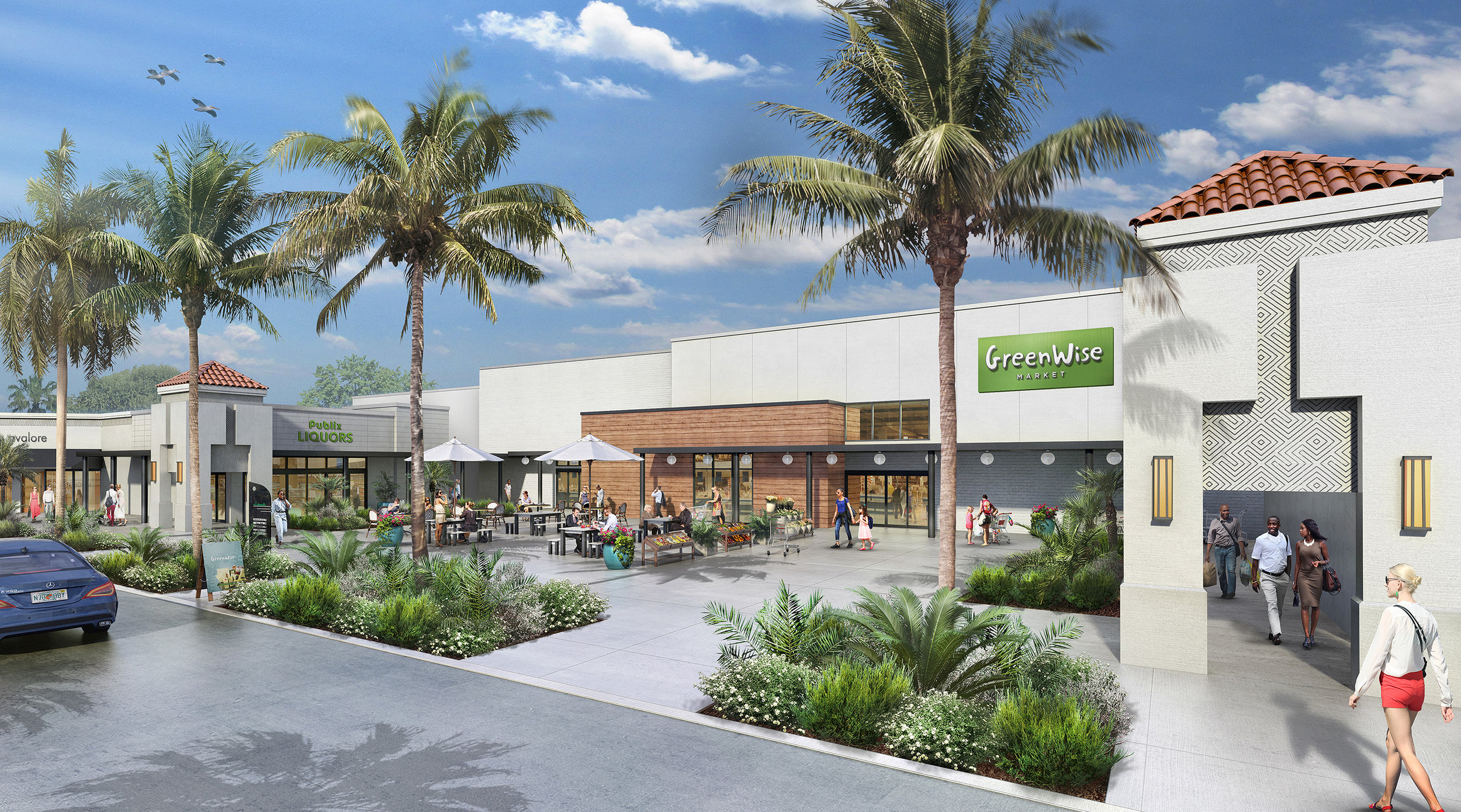 LAKESIDE CENTER CONCEPT  Boca Raton, FL |  Client: Edens