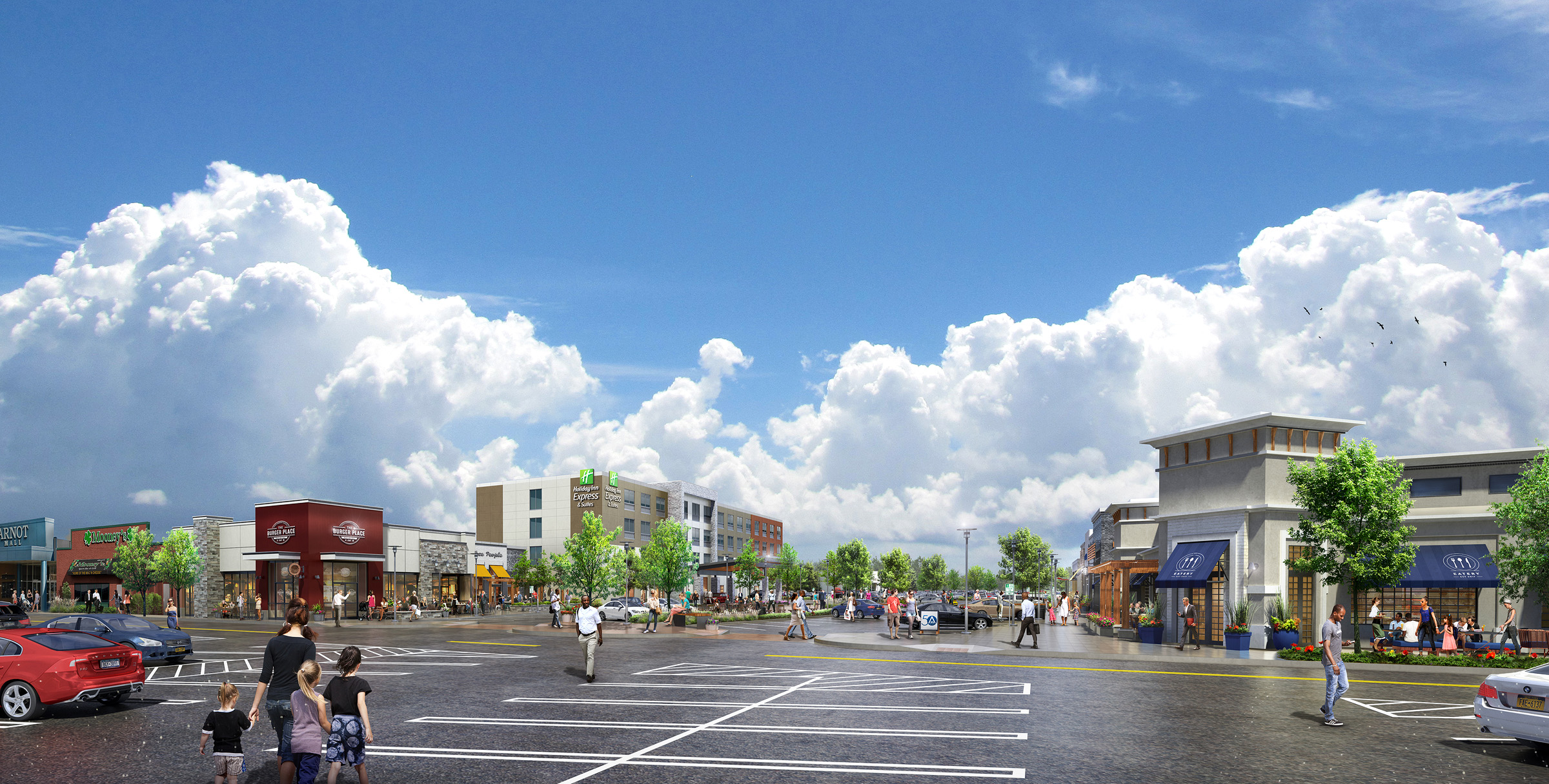 ARNOT MALL CONCEPTS  Horseheads, NY |  Client: Arnot Realty Corp