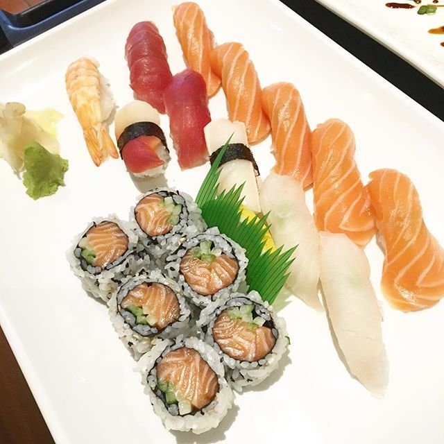 Can you buy me some sushi to cheer me up from this gloomy day?