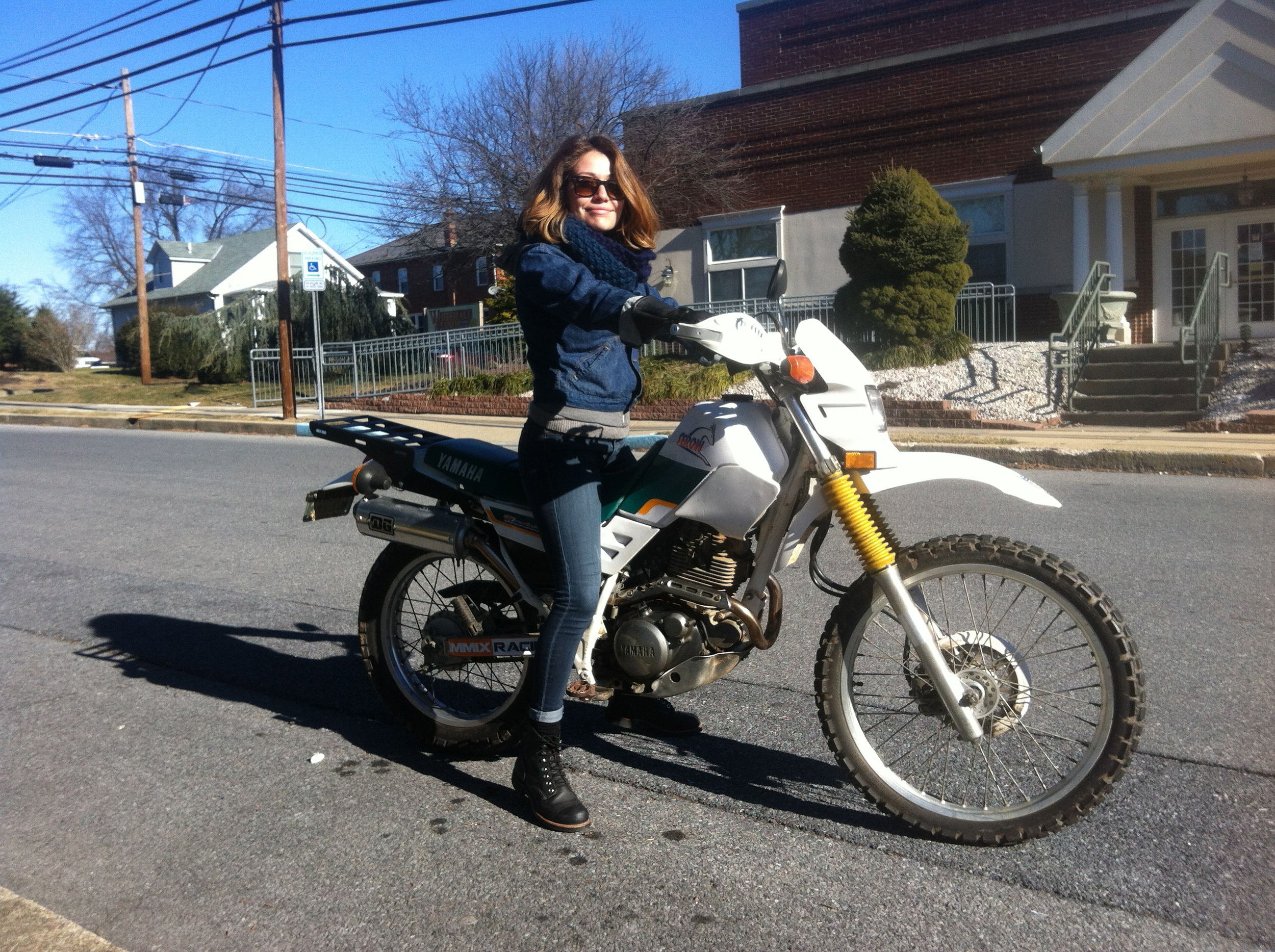 1994 Yamaha XT225 Serow