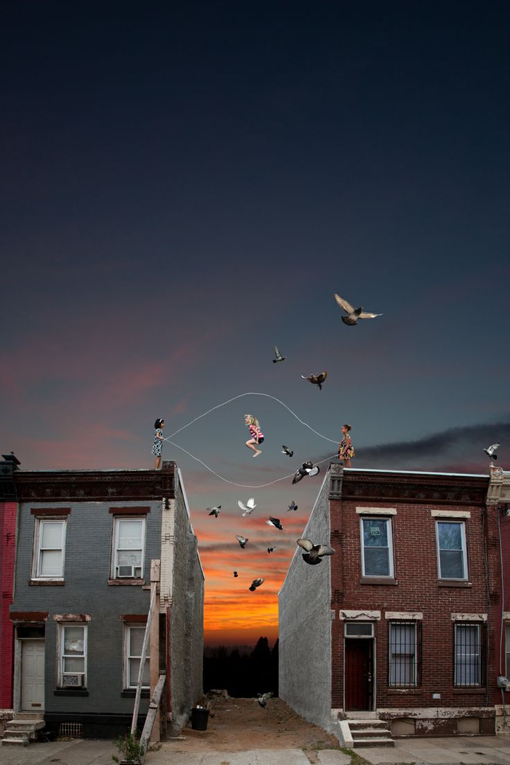 Gush Gallery presents Double Dutch by Kate Harrold. See more of her city-inspired manipulated digital photography at the JINXED Grand Opening on Saturday 12/12 from 12-8PM @ 4521 BALTIMORE AVE, West Philly. www . kateharrold.com
