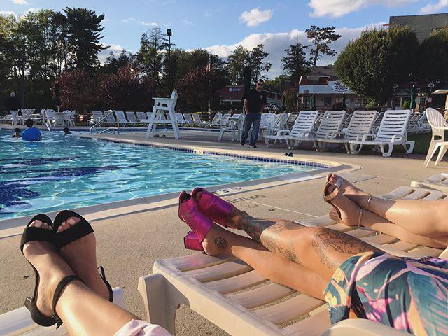 summer's end 💘✨ #poolside #endofsummer