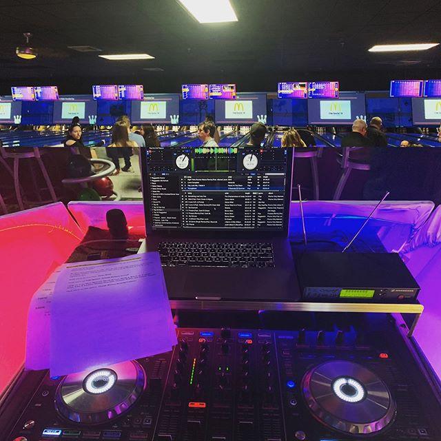 Ronald McDonald House's Bowl-A-Thon #latintouchentertainment #_djlu #partytime #Bowlathon #AlomaBowl #ronaldmcdonaldhousecharities
