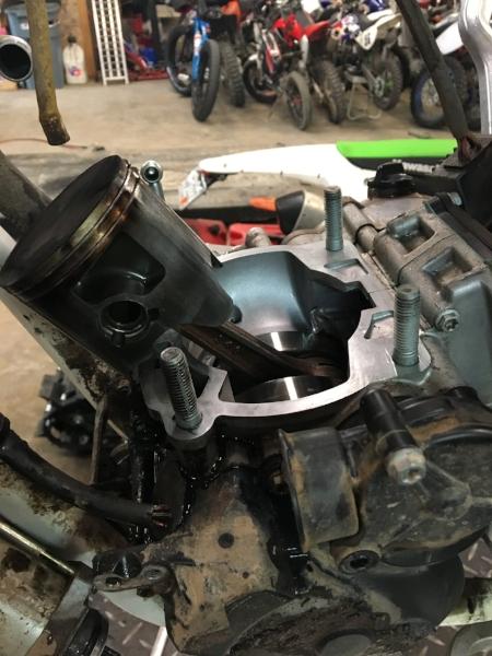 Step 2: Disassemble motor