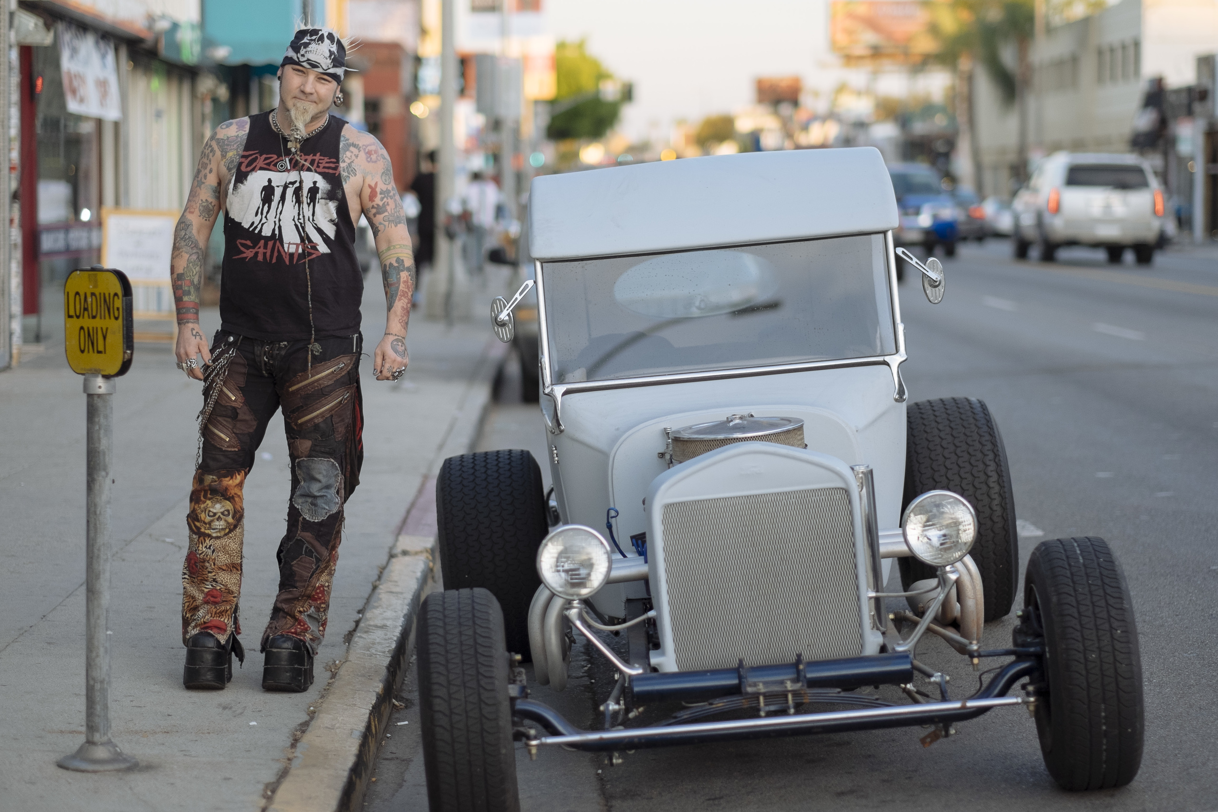 Melrose Rat Rods!  Melrose - Los Angeles - November 2014