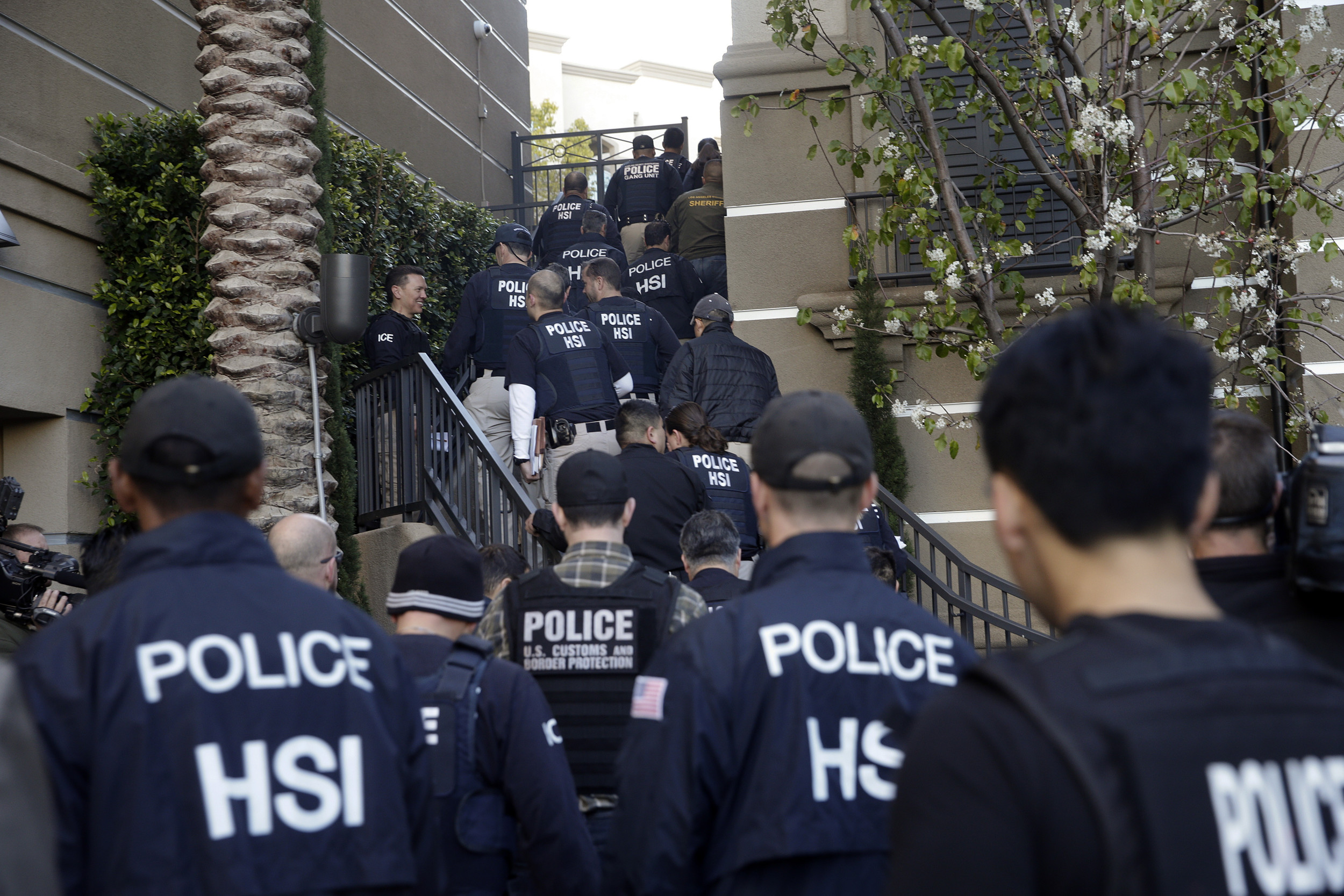 The raids are a response to the continued increase of Central American border crossings in recent months and are intended to combat the surge and to enforce immigration law, DHS Secretary Jeh Johnson explained in a press statement