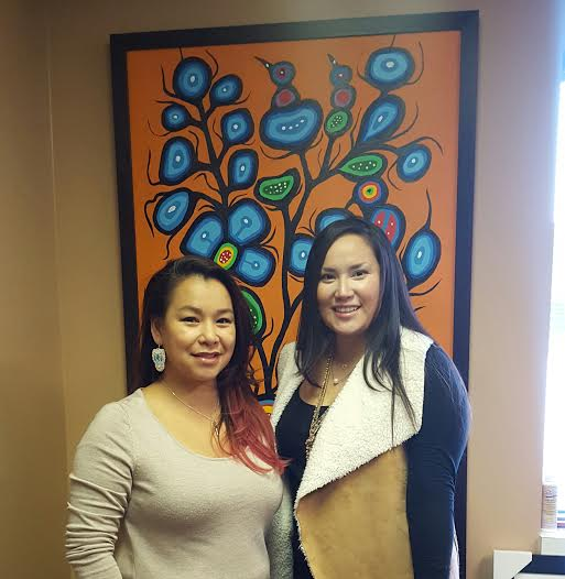 Executive Director, Tara Worme and Shinoah Young