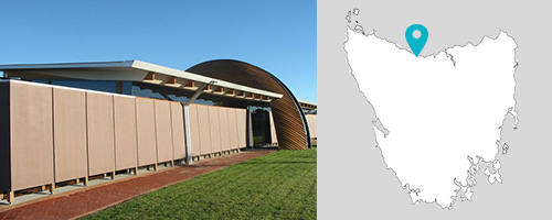 Ulverstone Visitor Centre, Tasmania