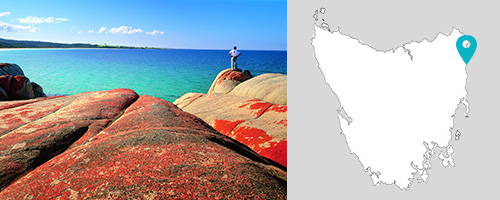 St Helens, Bay of Fires, Tasmania