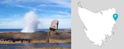 The Blow Hole, Bicheno, Tasmania