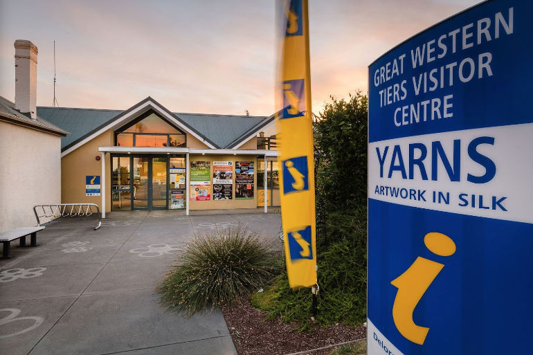 Great Western Tiers Visitor Centre & Yarns - Deloraine -