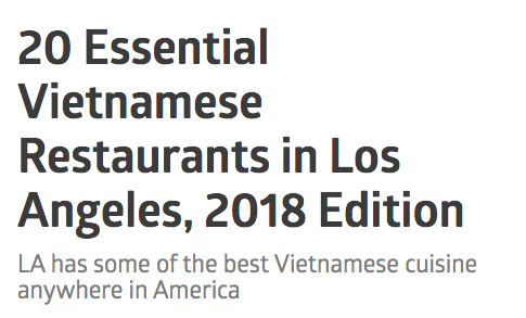 EATER LOS ANGELES   Banh Mi Venice ranks #2