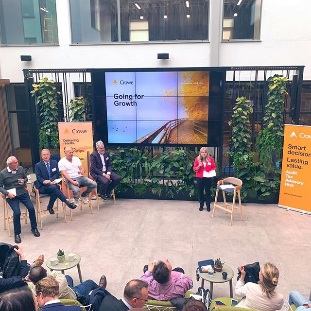 ‪Learnt a lot about the future of AI at the 'Going for Growth' seminar yesterday with Crowe and a great panel of speakers  @tradegovuklbn #notwics #deptofinternationaltrade #tradegovuk #departmentofinternationaltrade #signum #signumintel #crowe #crowellp #accountancyfirm #tax #florabuilding #shoreditch #spitalfields #folgatestreet #techweek #ai #aitech #technews #techevent #londontechweek #machinelearning #ArtificialInteligence ‬#networking #business #businessnetworking