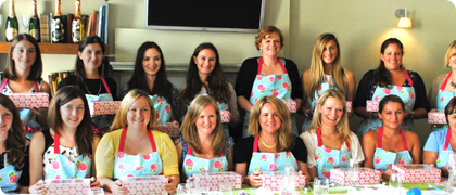 Group bookings and events   Whether you are after a fun hen party activity, a glamorous girly day out with your friends, a corporate team building event or an extra special birthday treat, a private cupcake decorating class is a wonderful and unique way to spend an afternoon. Whatever the occasion, we can customise the class style, pace and content to suit your group.   Hen parties   A hen party cupcake decorating class can be a wonderful unique alternative to the usual hen activities, or a fun and relaxed warm up to a busy evening ahead.