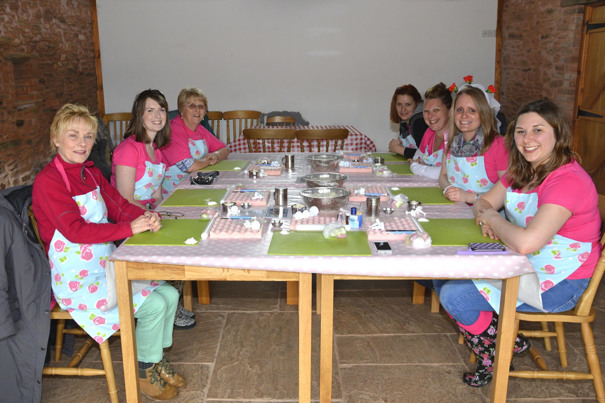 Cupcake Class at home